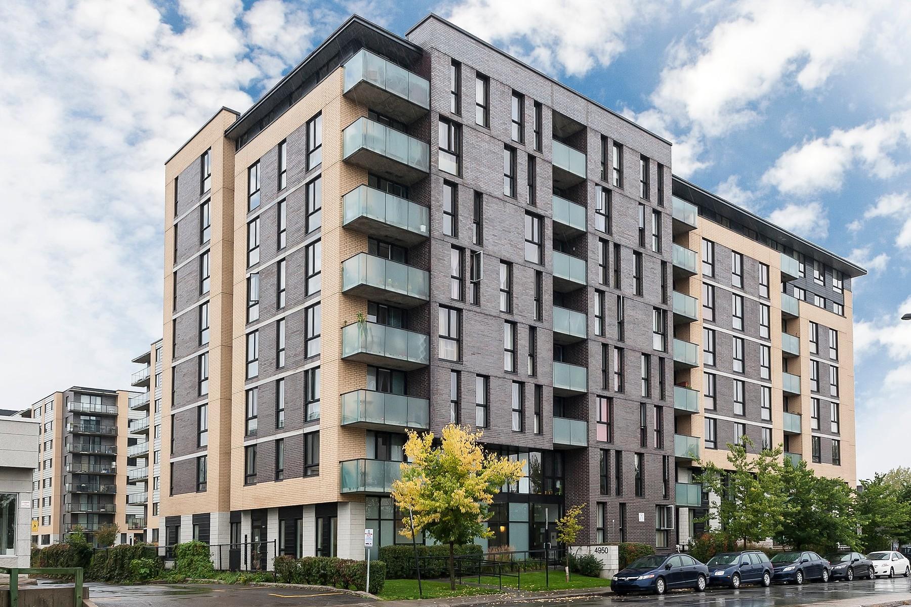 共管式独立产权公寓 为 销售 在 Côte-des-Neiges Notre-Dame-de-Grâce, Montréal 4950 Rue de la Savane, Apt. 104 Cote Des Neiges Notre Dame De Grace, 魁北克省 H4P1T7 加拿大