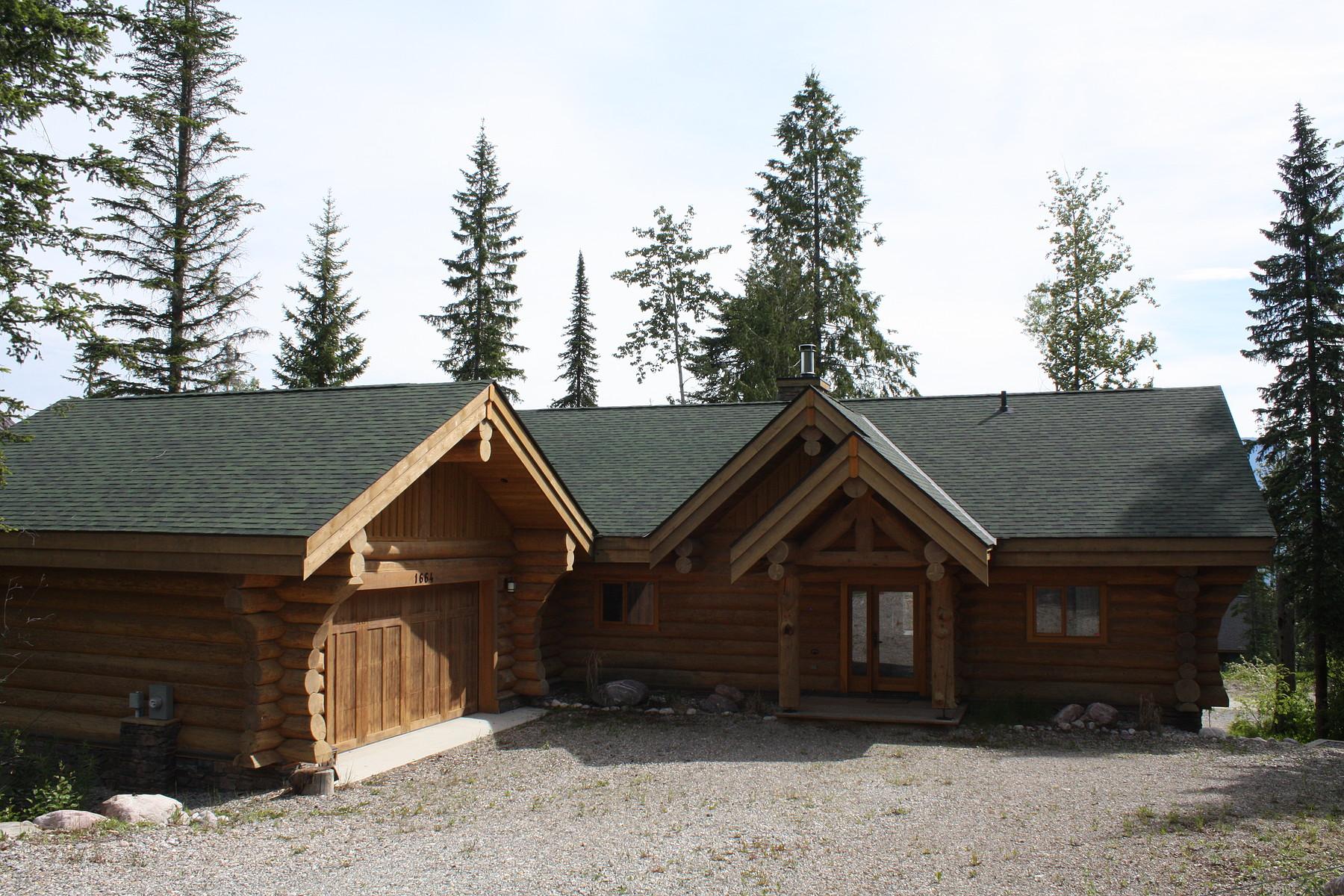 一戸建て のために 売買 アット Classic Canadiana Log Cabin 1664 Thompson Crescent Golden, ブリティッシュコロンビア, V0A1H0 カナダ
