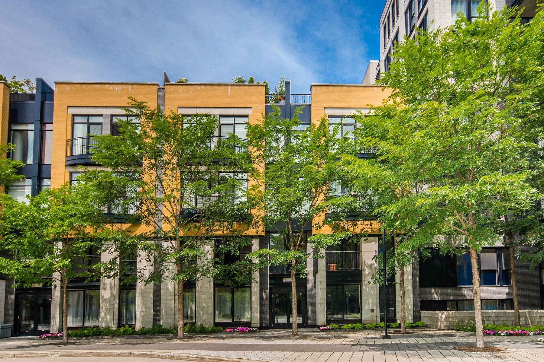 콘도미니엄 용 매매 에 Le Plateau-Mont-Royal (Montréal), Montréal 3419 Av. Henri-Julien, Apt. 101B Montreal, 퀘벡주 H2X3H3 캐나다