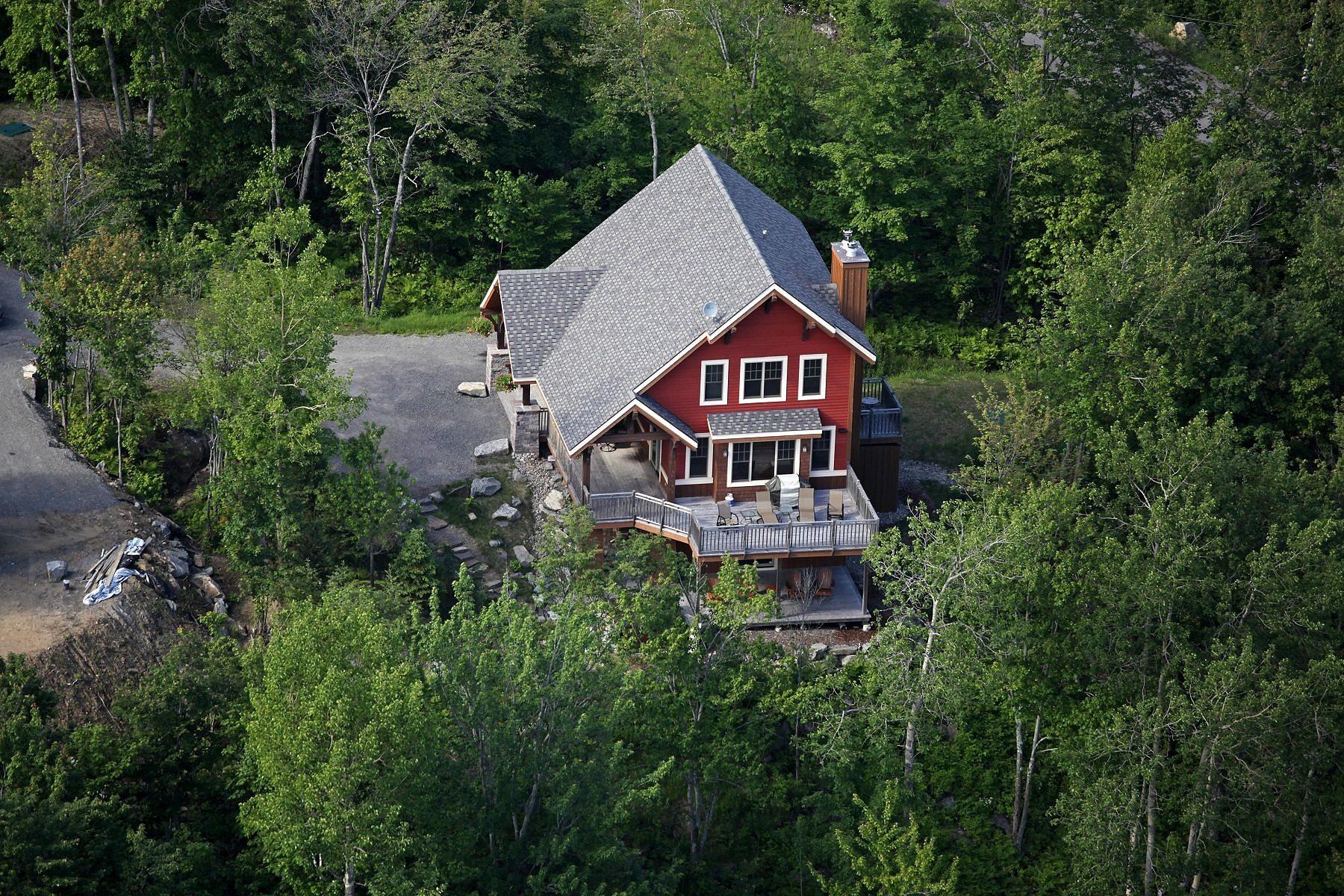 Частный односемейный дом для того Продажа на Mont-Tremblant, Laurentides 115 Ch. de l'Aventure Mont-Tremblant, Квебек, J8E0A9 Канада