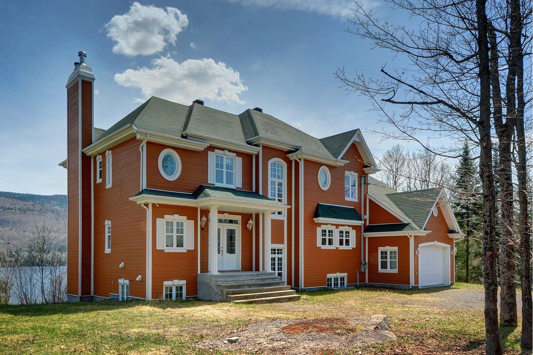 Частный односемейный дом для того Продажа на Saint-Donat, Lanaudière 4 Ch. Bouchard Saint-Donat, Квебек J0T2C0 Канада
