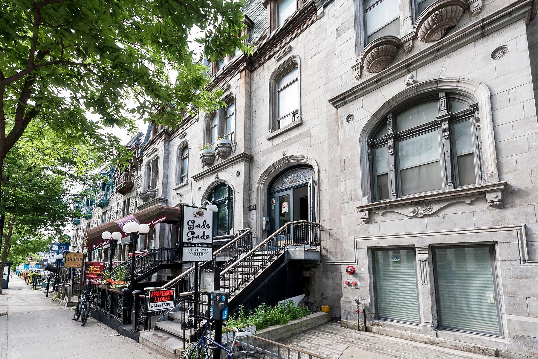 Nhà ở nhiều gia đình vì Bán tại Ville-Marie, Montréal 1242A Rue MacKay Ville-Marie, Quebec, H3G2H4 Canada