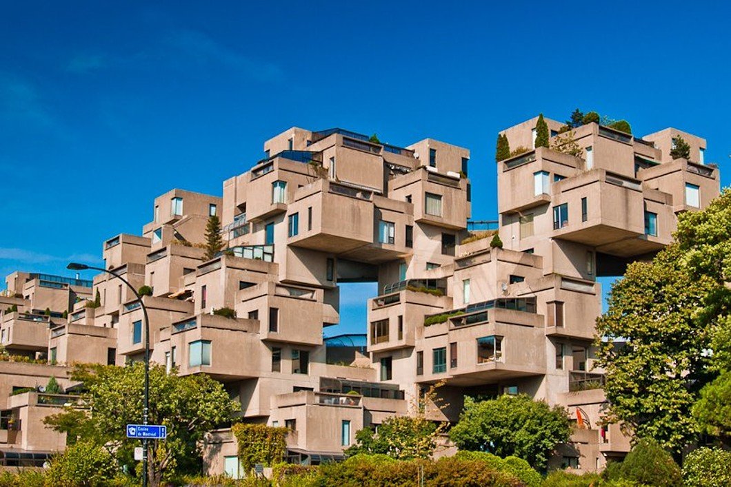 sales property at Habitat 67, International Icon