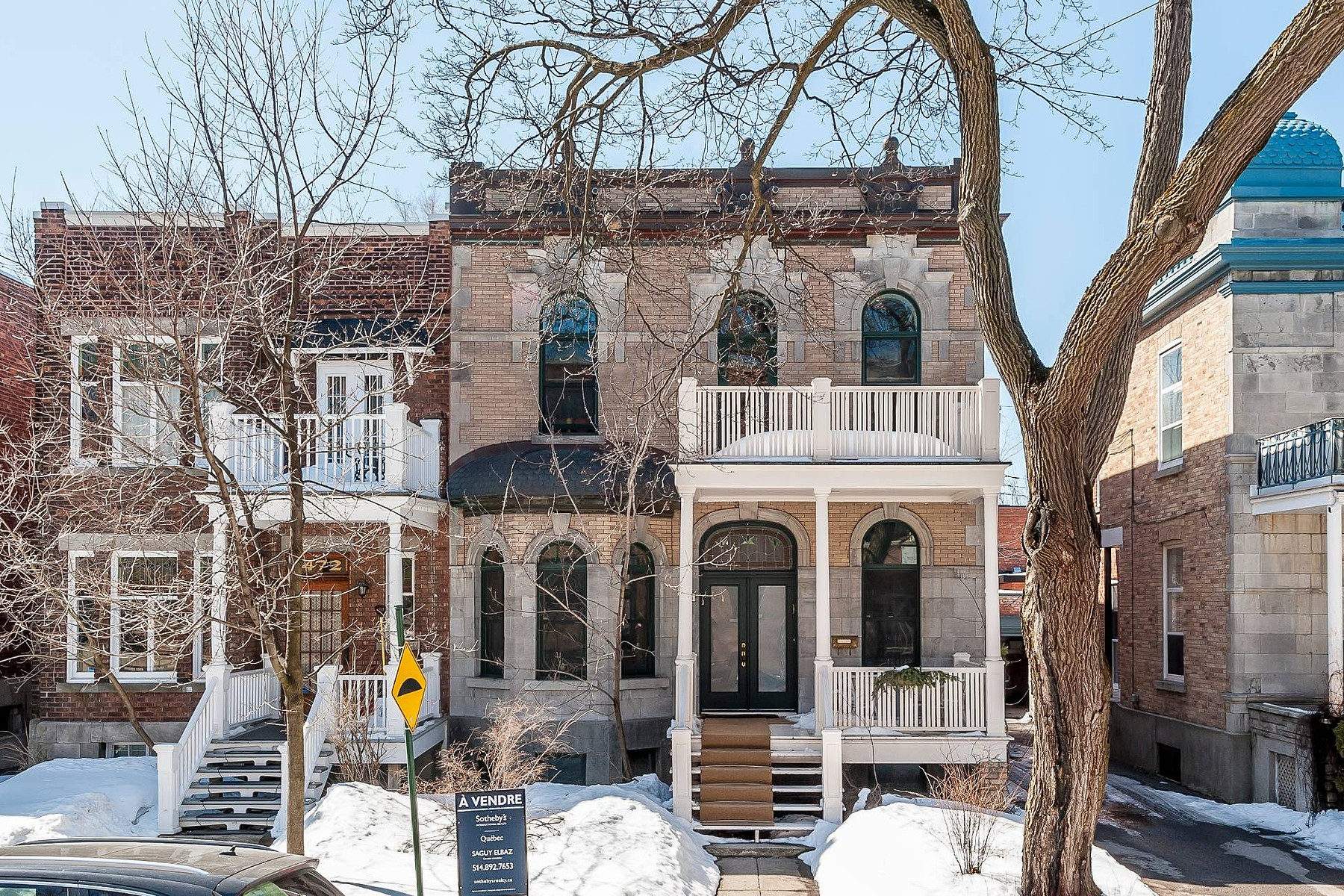 Single Family Home for Sale at Outremont, Montréal 474 Av. Bloomfield Outremont, Quebec, H2V3R8 Canada