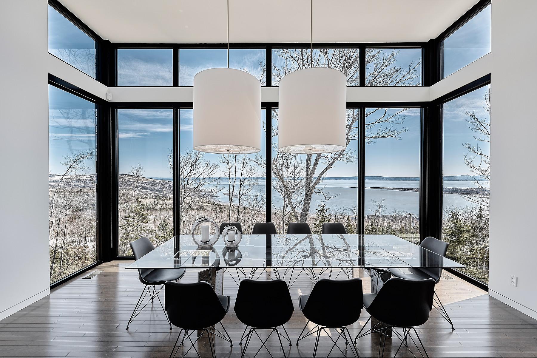 独户住宅 为 销售 在 Le secret de Charlevoix 254 Ch. Pierre-De-Sales Les Eboulements, 魁北克省, G0A2M0 加拿大