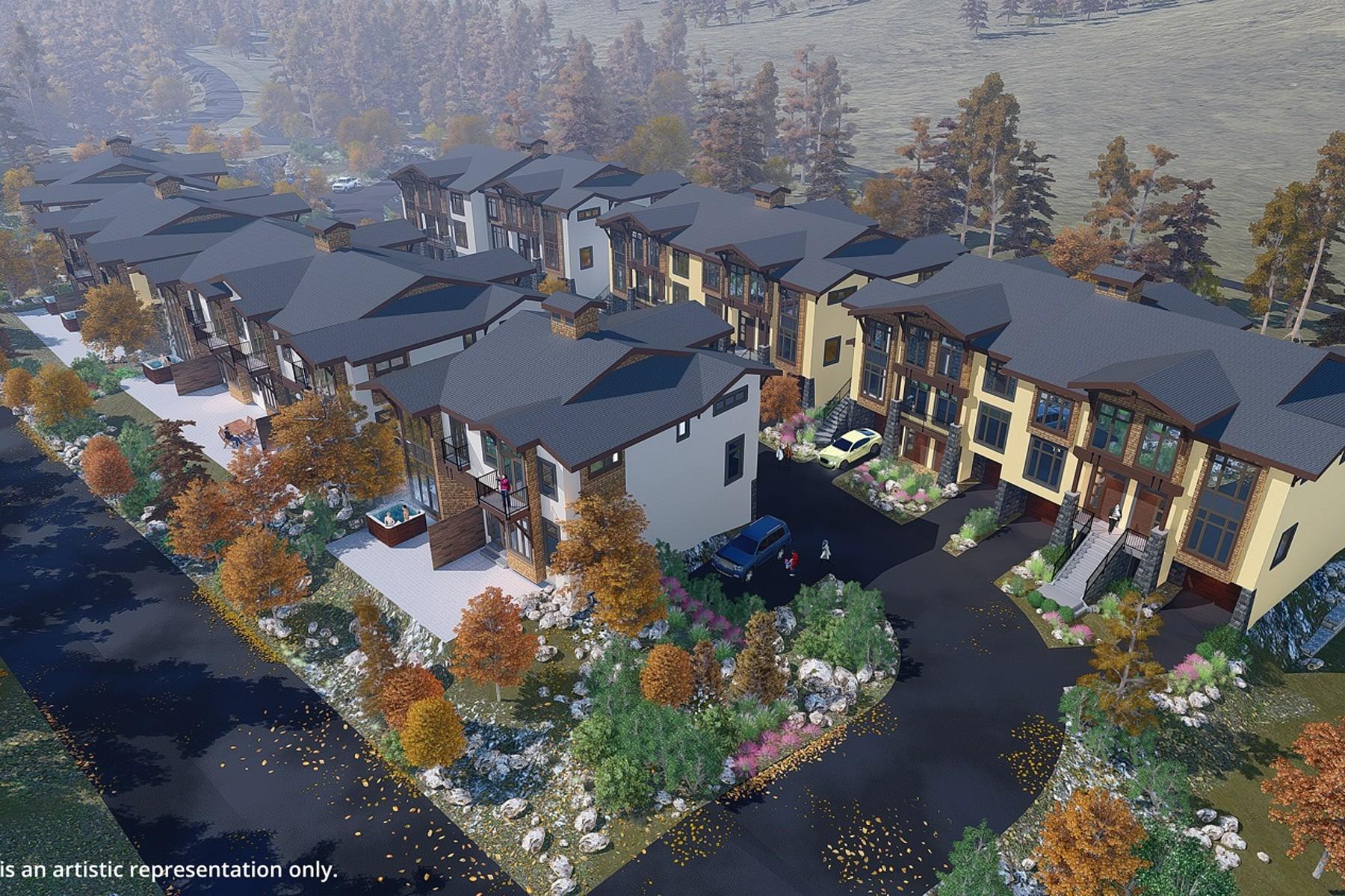 타운하우스 용 매매 에 VillageWalk - Luxury Townhome 23 - 3280 Village Way Sun Peaks, 브리티시 컬럼비아주, V0E 5N0 캐나다
