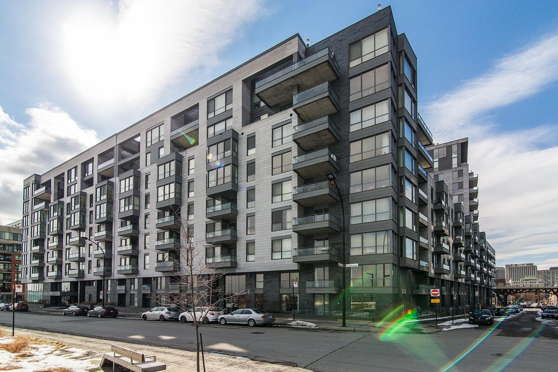 Vivienda unifamiliar por un Venta en Ville-Marie (Montréal), Montréal 859 Rue de la Commune E., Apt. 611 Montreal, Quebec H2L0B9 Canadá