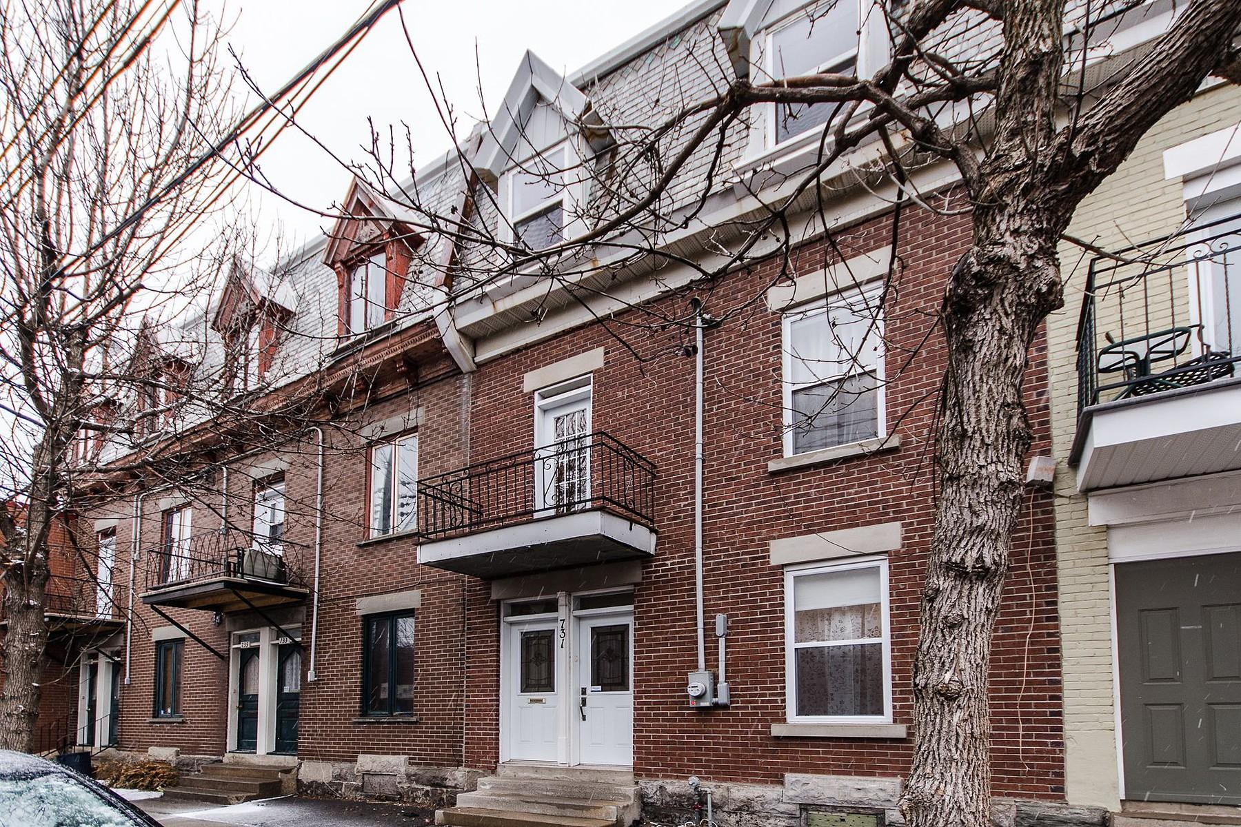 Nhà ở một gia đình vì Bán tại Le Sud-Ouest (Montréal), Montréal 731 Rue d'Hibernia Montreal, Quebec H3K2T3 Canada
