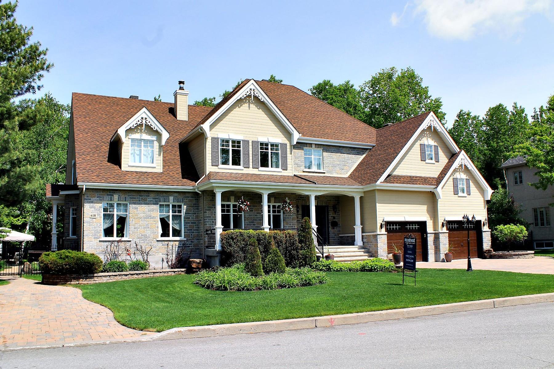 獨棟家庭住宅 為 出售 在 Terrebonne (Terrebonne), Lanaudière 616 Rue du Sentier-de-la-Forêt Terrebonne, 魁北克省 J6Y1Z6 加拿大