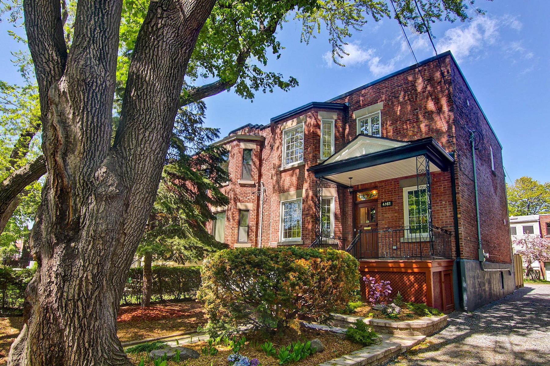 Разнобразная частная недвижимость для того Продажа на Côte-des-Neiges / Notre-Dame-de-Grâce (Montréal), Montréal 4161 Av. Beaconsfield Montreal, Квебек H4A2H4 Канада