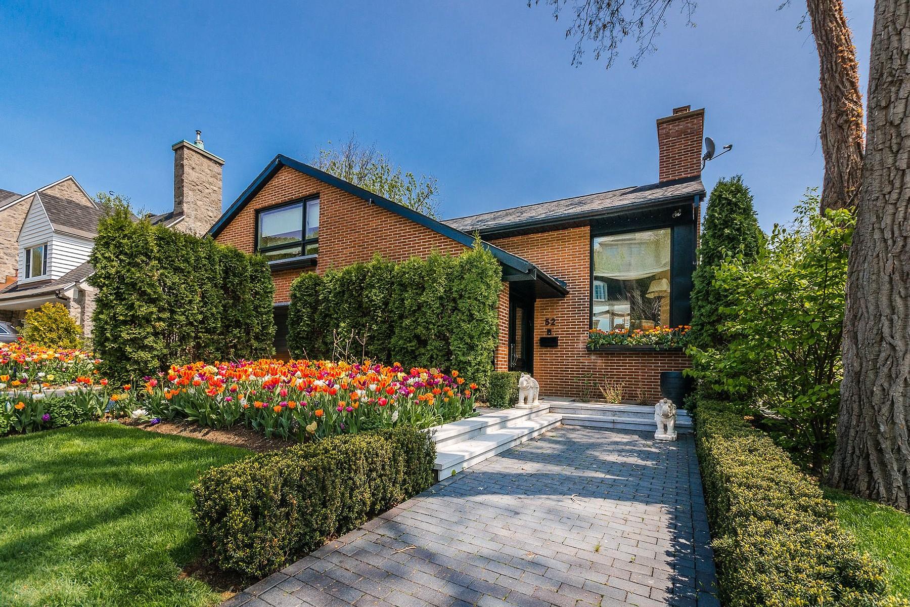 단독 가정 주택 용 매매 에 Westmount, Montréal 52 Ch. de Lavigne Westmount, 퀘벡주, H3Y2K2 캐나다