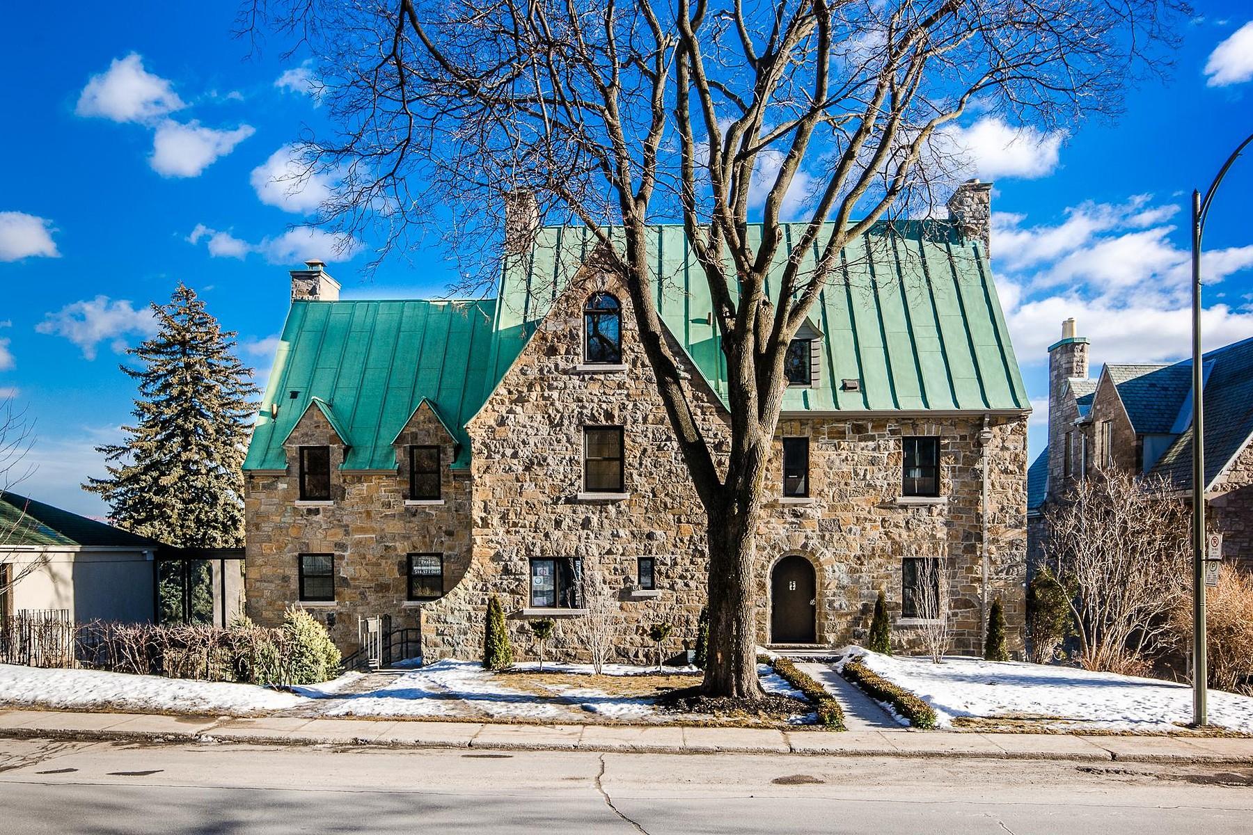 sales property at Westmount, Montréal