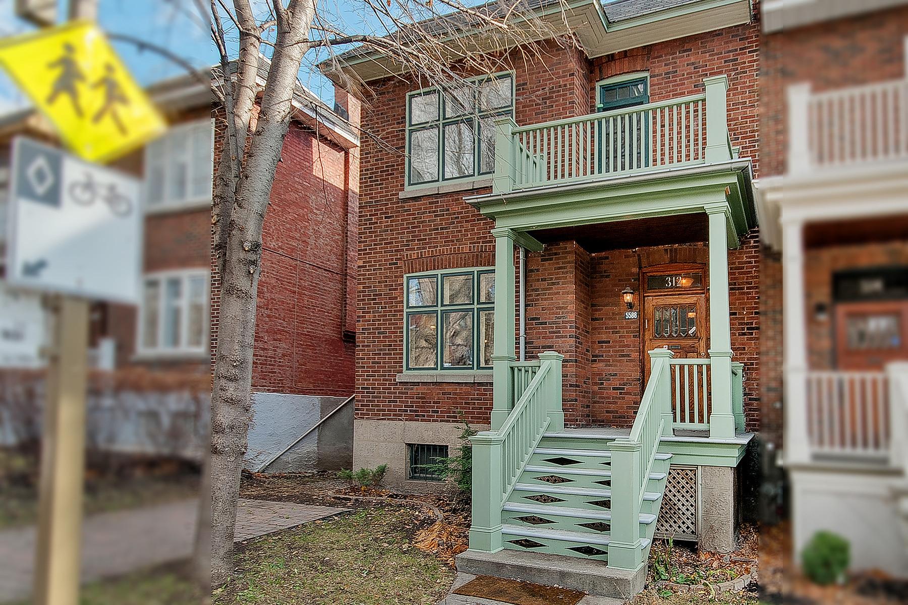 Nhà ở một gia đình vì Bán tại Monkland Village 5588 Av. Notre-Dame-de-Grâce Montreal, Quebec H4A1L7 Canada