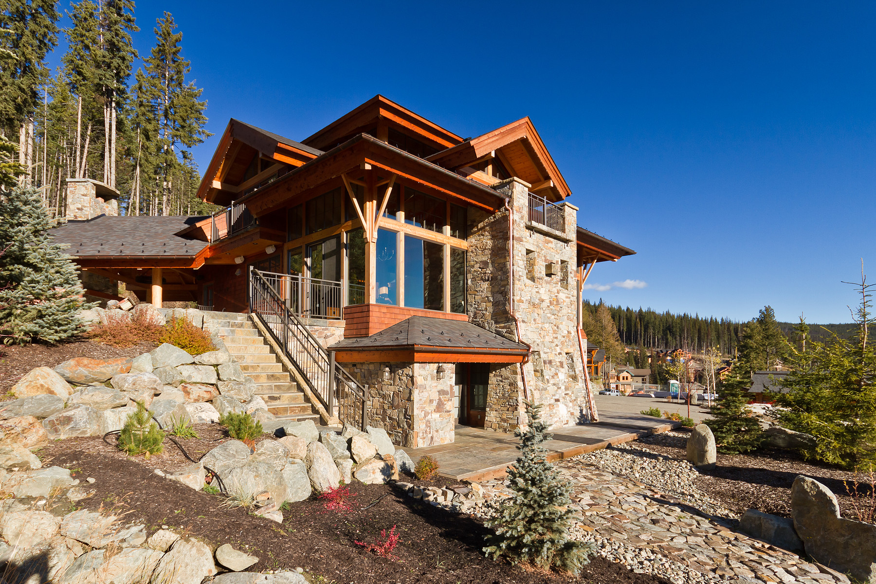 Other Residential for Sale at Prestigious Timberframe Retreat 4137 Douglas Court Sun Peaks, British Columbia V0E 5N0 Canada
