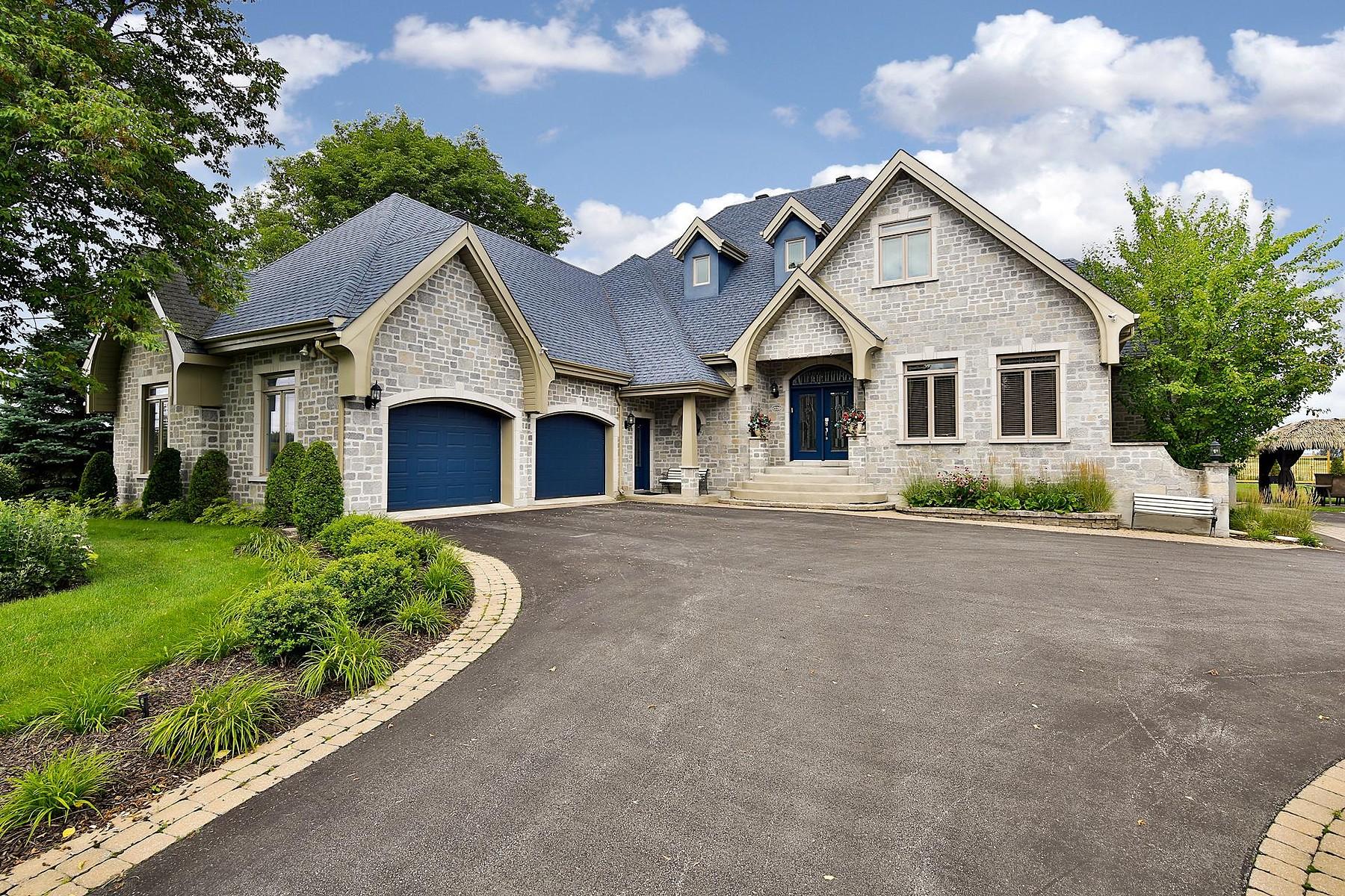Частный односемейный дом для того Продажа на L'Assomption, Lanaudière 221 Rg Point-du-Jour N. L'Assomption, Квебек J5W1H3 Канада