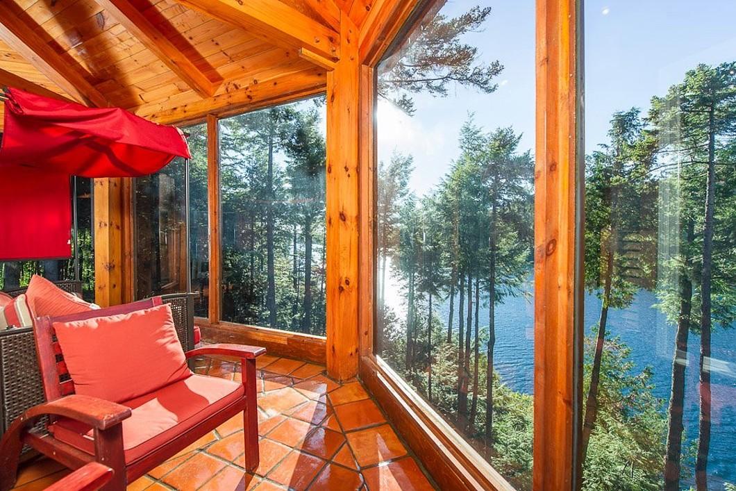 独户住宅 为 销售 在 Lakefront Property 119 Ch. de la Belette 奥福德, 魁北克省, J1X6X7 加拿大