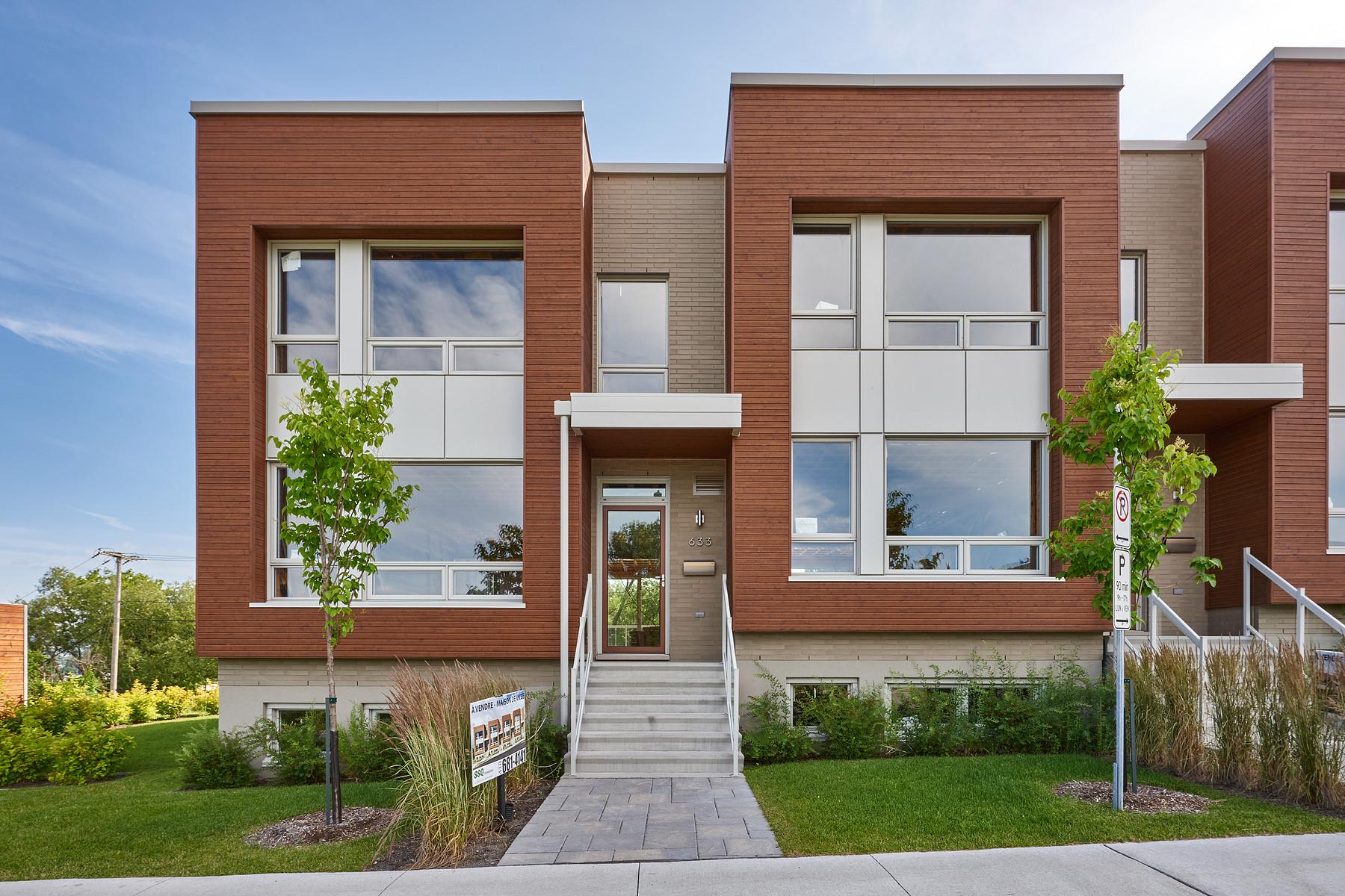 联栋屋 为 销售 在 Cité Verte - MAISON DE VILLE 633 Av. des Jésuites Other Quebec, 魁北克省 G1S0B6 加拿大