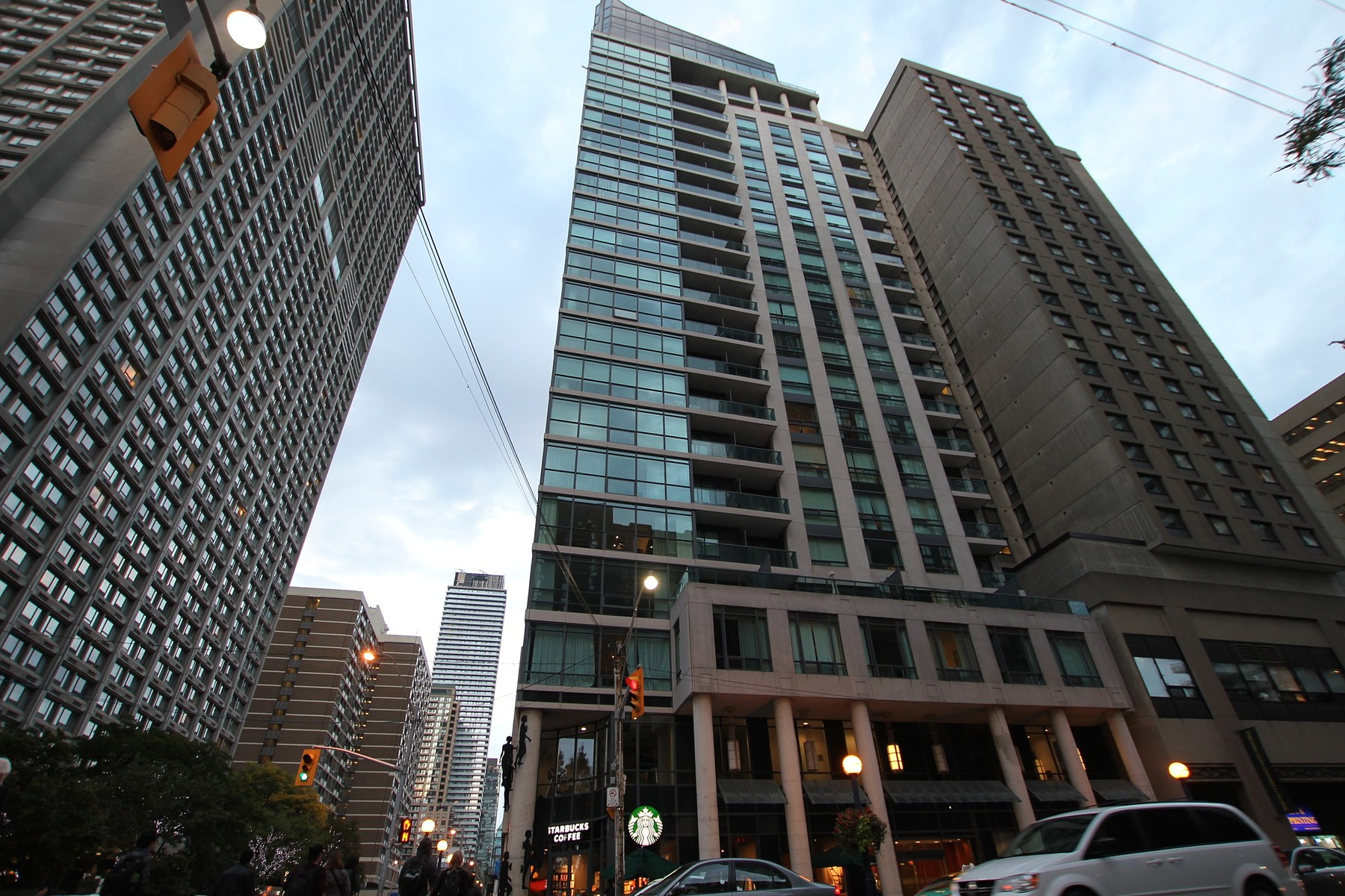 Condominium for Sale at Corner Suite at 1121 Bay 1121 Bay St 1403 Toronto, Ontario M5S3L9 Canada