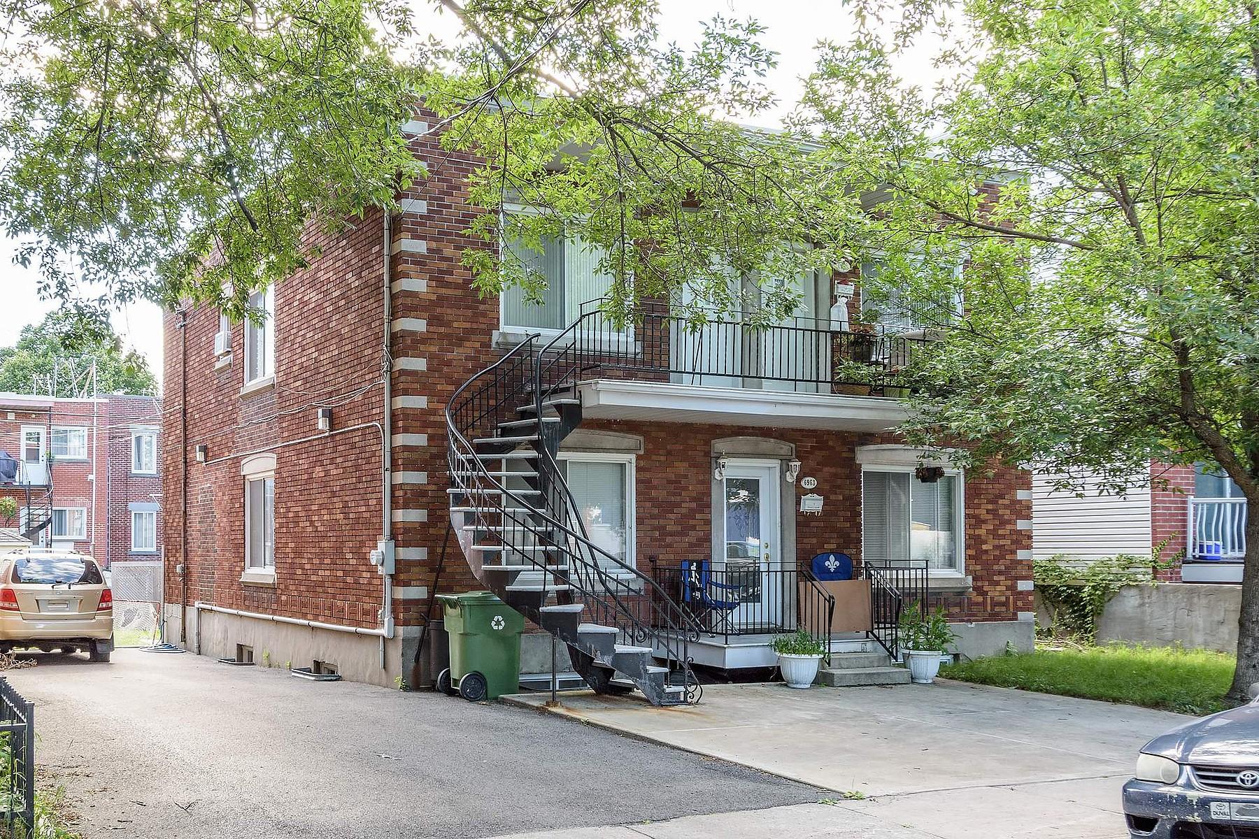 дуплекс для того Продажа на Le Sud-Ouest, Montréal 6963 Rue Mazarin Le Sud Ouest, H4E2X8 Канада