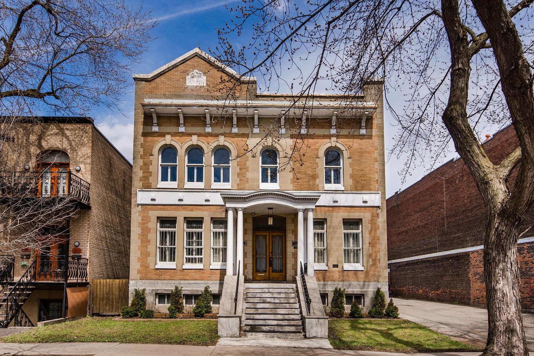 Maison unifamiliale pour l Vente à Le Plateau-Mont-Royal (Montréal), Montréal 3829 Rue St-Hubert Montreal, Québec H2L4A4 Canada