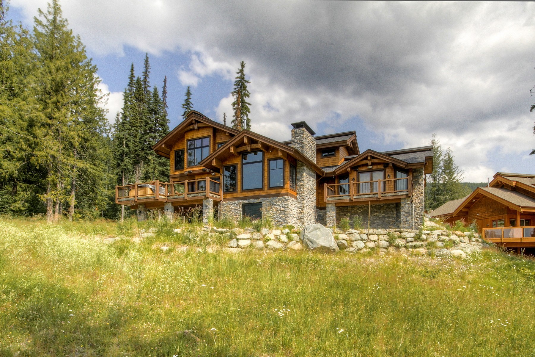 Single Family Home for Sale at Premium Slope Side Mountain Chalet 4121 Sundance Drive Sun Peaks, British Columbia, V0E 5N0 Canada