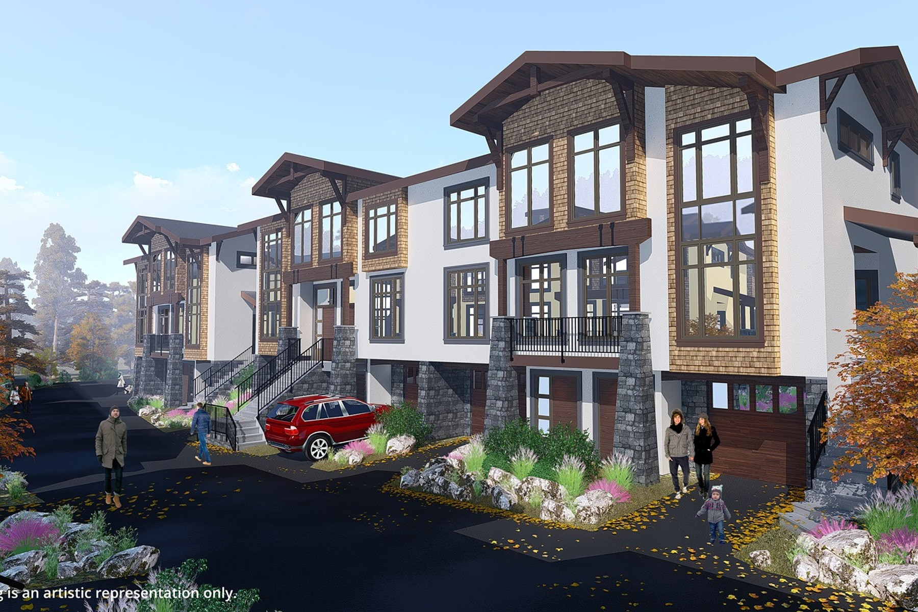 Additional photo for property listing at VillageWalk - Luxury Townhome 17 - 3280 Village Way Sun Peaks, Британская Колумбия V0E 5N0 Канада