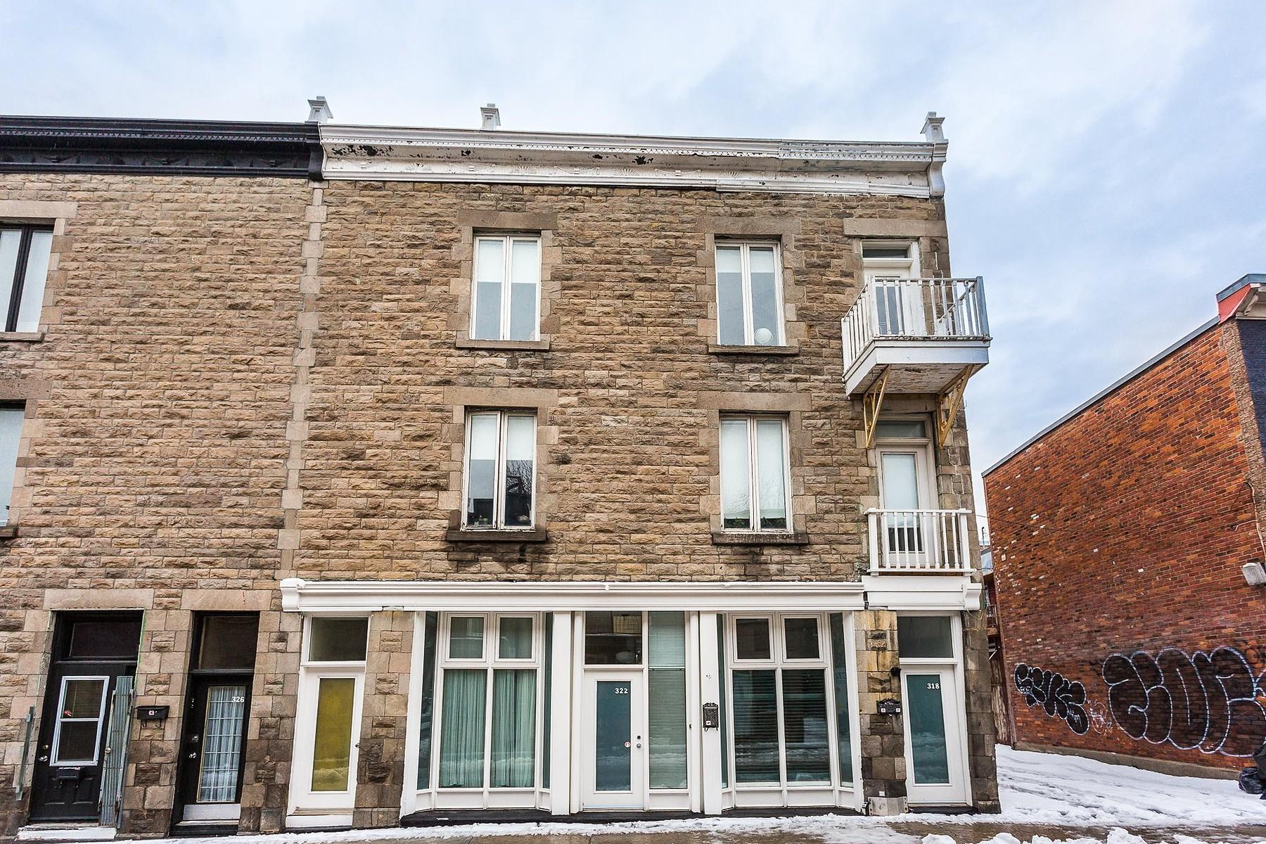 Casa Unifamiliar por un Venta en Le Plateau-Mont-Royal, Montréal 322 Rue Marie-Anne E. Le Plateau Mont Royal, Quebec, H2W1B1 Canadá