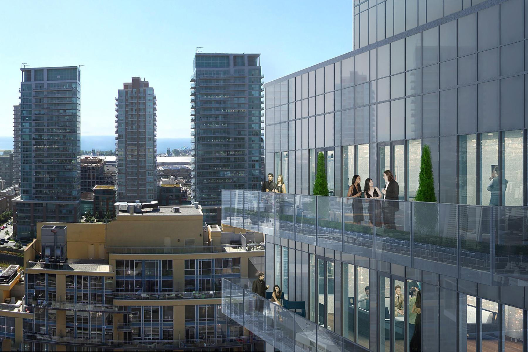 Appartement en copropriété pour l Vente à Dna3 Condo 1030 King St. W., Unit 630 Toronto, Ontario M6K3K1 Canada