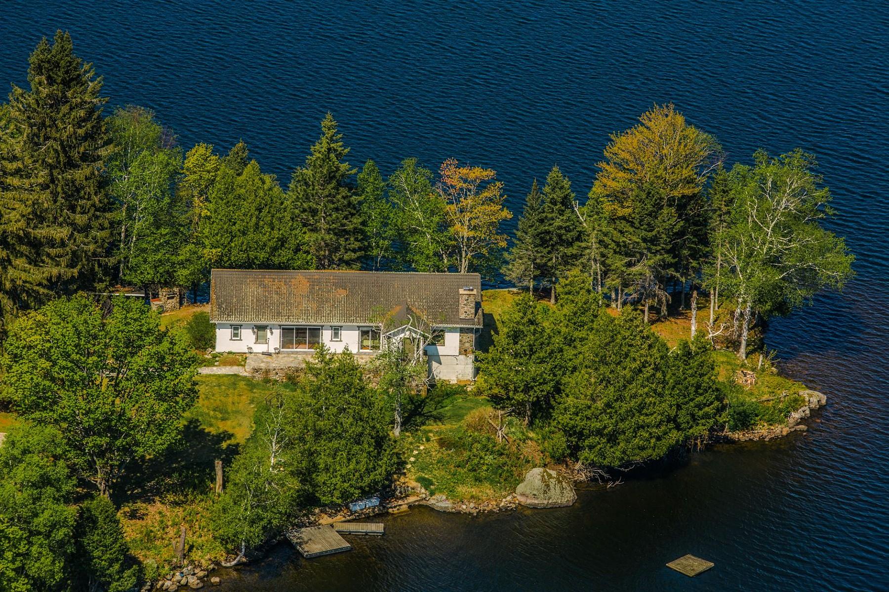 独户住宅 为 销售 在 Mont-Tremblant, Laurentides 134 Ch. Dorken 塔伯拉, 魁北克省 J8E1Y2 加拿大
