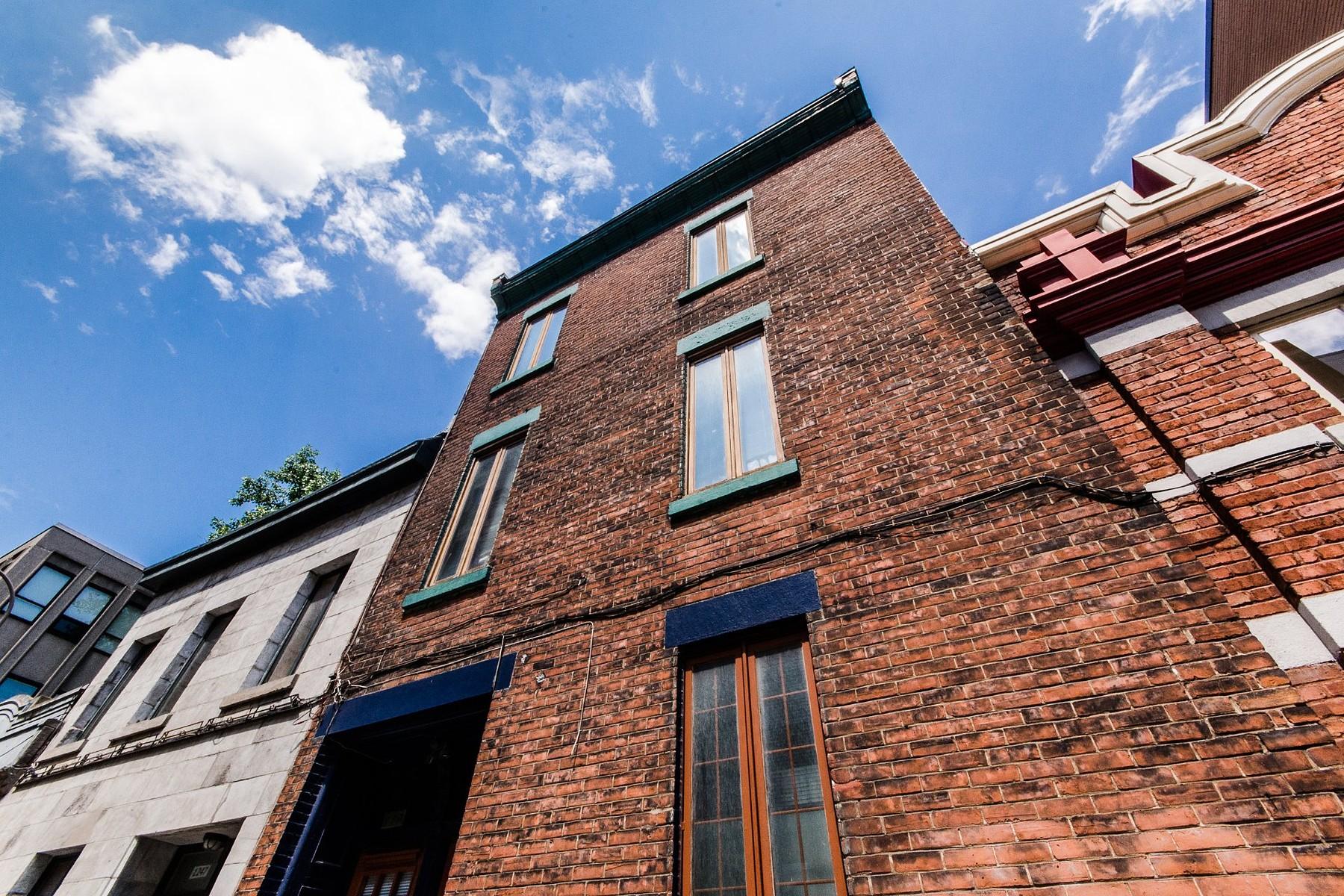 Частный односемейный дом для того Продажа на Ville-Marie (Montréal), Montréal 1243 Av. de l'Hôtel-de-Ville Montreal, Квебек H2K3A9 Канада