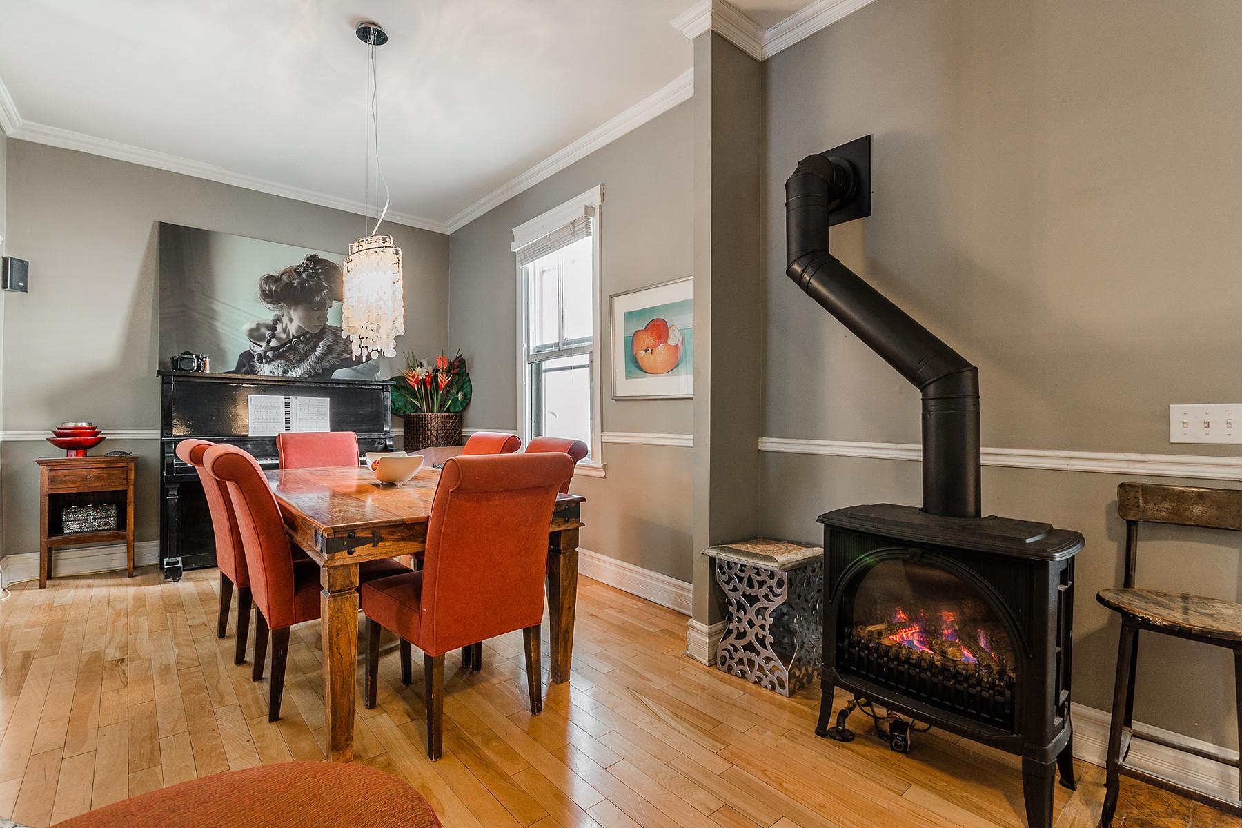 Additional photo for property listing at Le Plateau-Mont-Royal, Montréal 4805 Rue de la Roche Le Plateau Mont Royal, Quebec H2J3J8 Canada