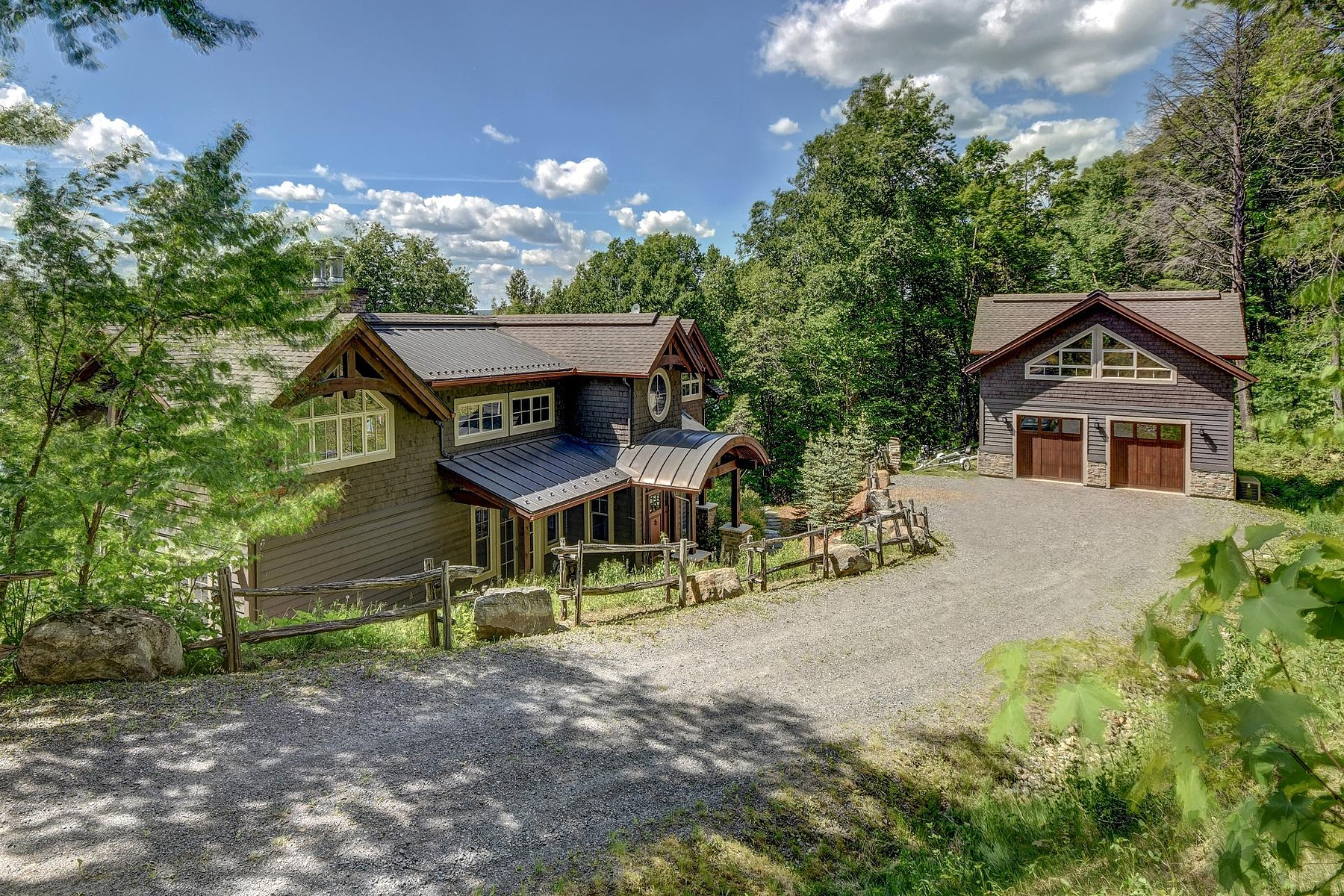 sales property at Amherst, Laurentides