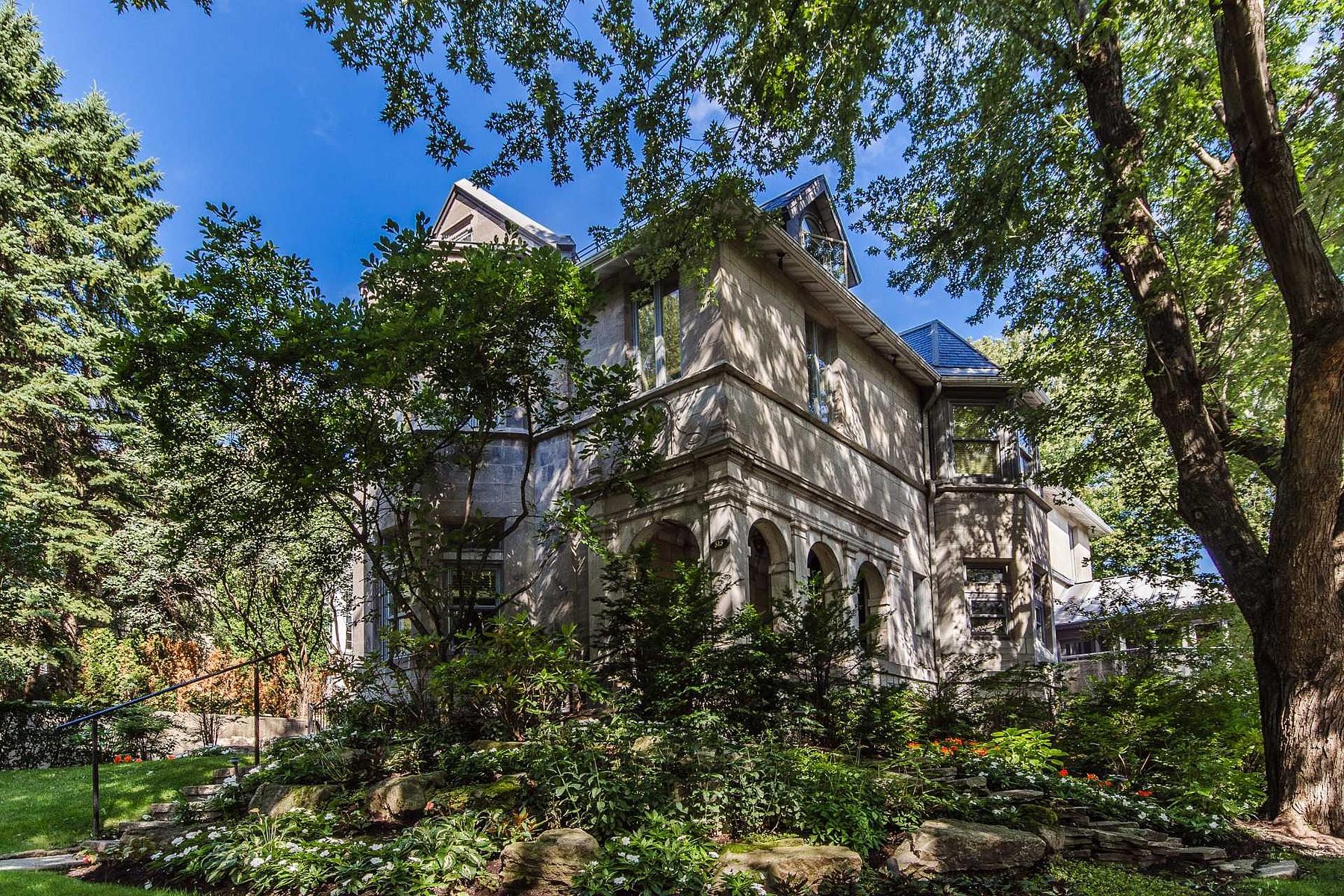 Single Family Home for Sale at Westmount, Montréal 515 Av. Roslyn Westmount, Quebec H3Y2T6 Canada