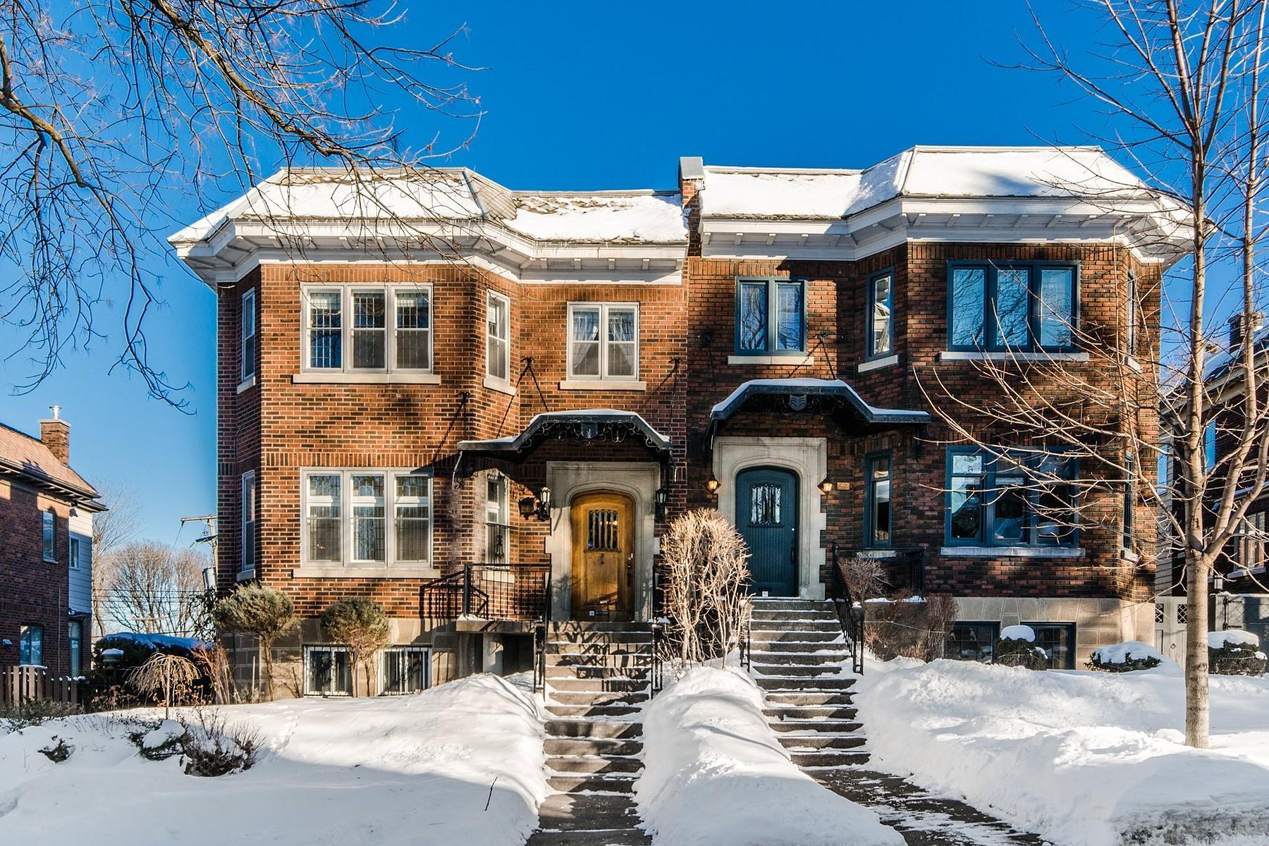 其它住宅 为 销售 在 Outremont (Montréal), Montréal 25 Av. Springgrove 乌特蒙, 魁北克省 H2V3J1 加拿大