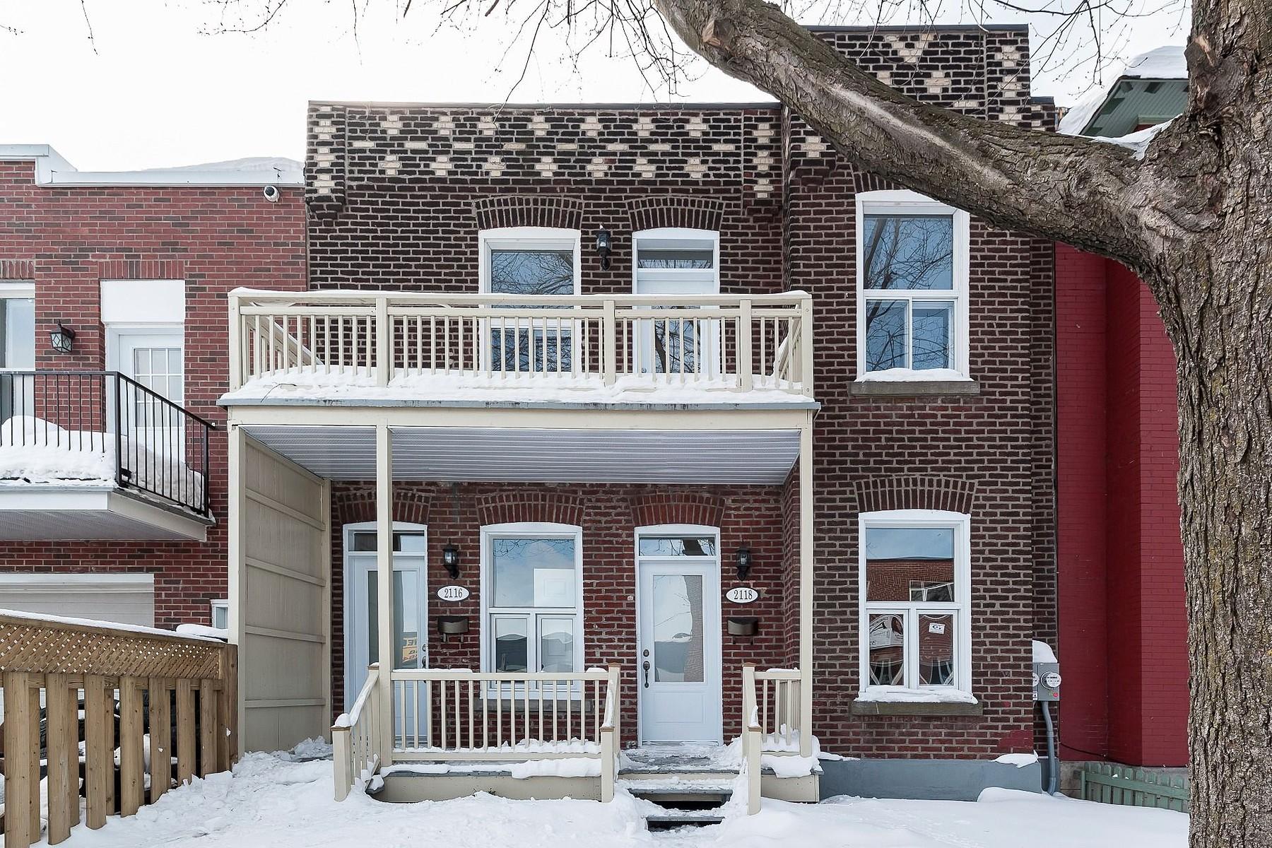 Tek Ailelik Ev için Satış at Côte-des-Neiges / Notre-Dame-de-Grâce (Montréal), Montréal 2116-2118 Av. Old Orchard Montreal, Quebec H4A3A8 Kanada