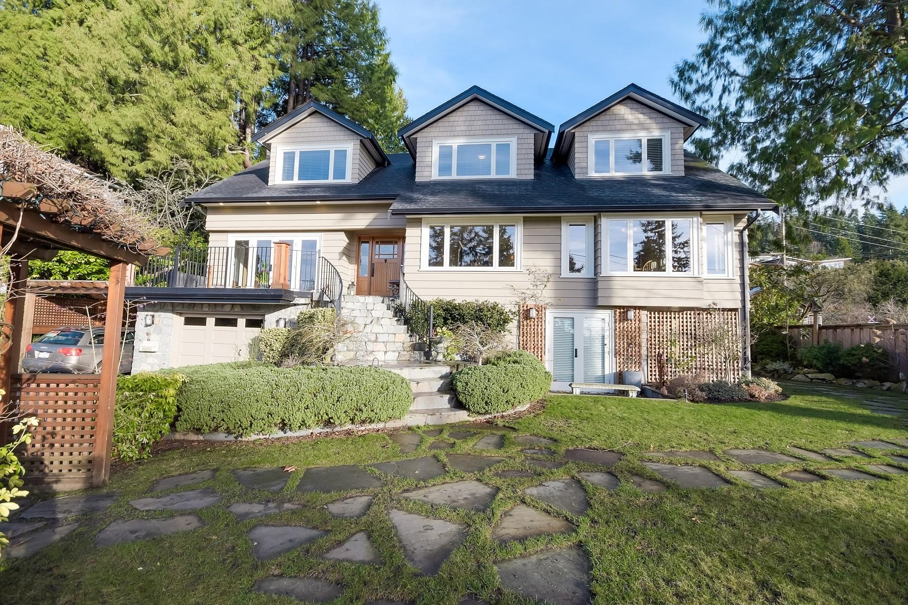 Casa Unifamiliar por un Venta en West Vancouver, Greater Vancouver- Test 3303 Marine Drive West Vancouver, British Columbia V7V 1M8 Canadá