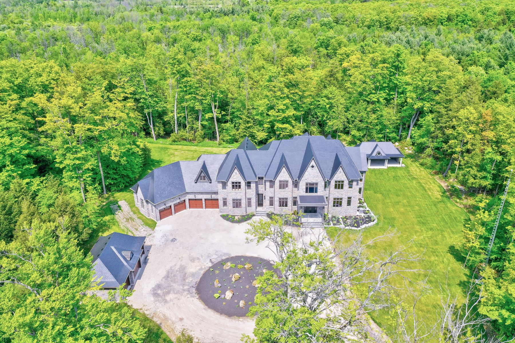 Single Family Homes for Sale at 25 Acre Custom Country Estate 10205 First Line Nassagaweya Milton, Ontario L0P1J0 Canada
