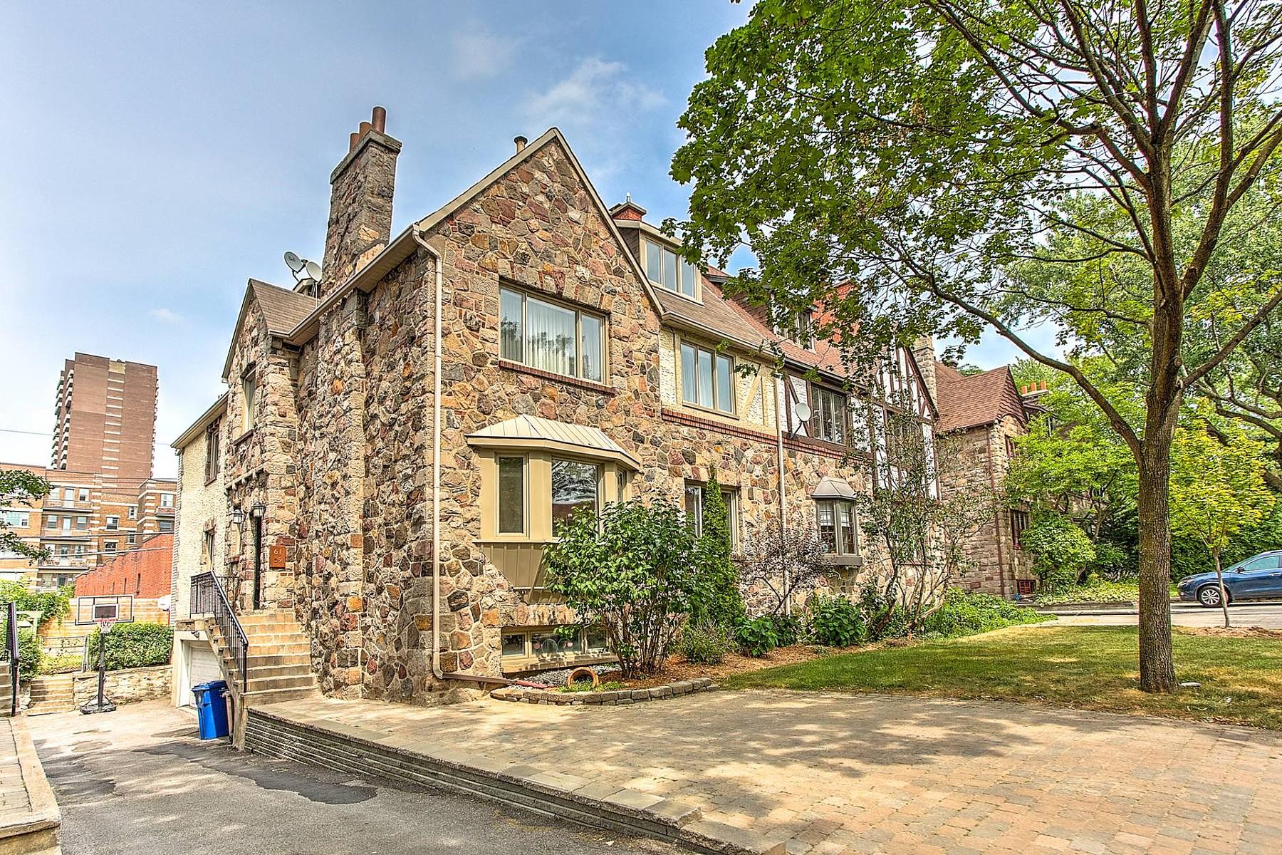 Duplex Homes for Sale at Hampstead, Montréal 59 Rue Dufferin Hampstead, Quebec H3X2X8 Canada
