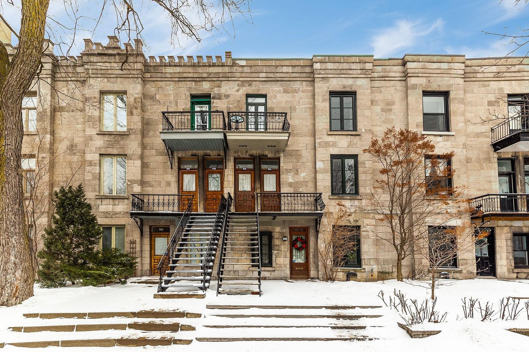 Condominiums for Sale at Le Plateau-Mont-Royal, Montréal 956 Rue Cherrier Le Plateau Mont Royal, Quebec H2L1H7 Canada
