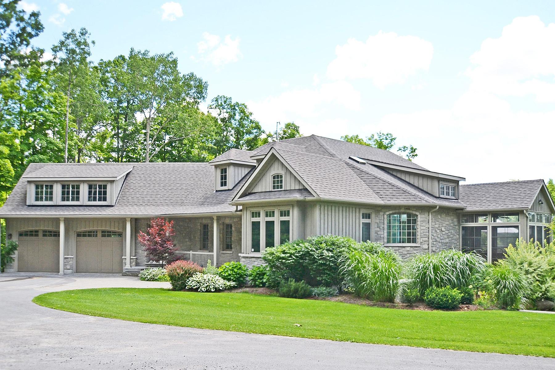 Casa para uma família para Venda às Executive Rural 85 Acre Estate 229 Skinkle Rd, Warkworth, Ontario, K0K 3K0 Canadá