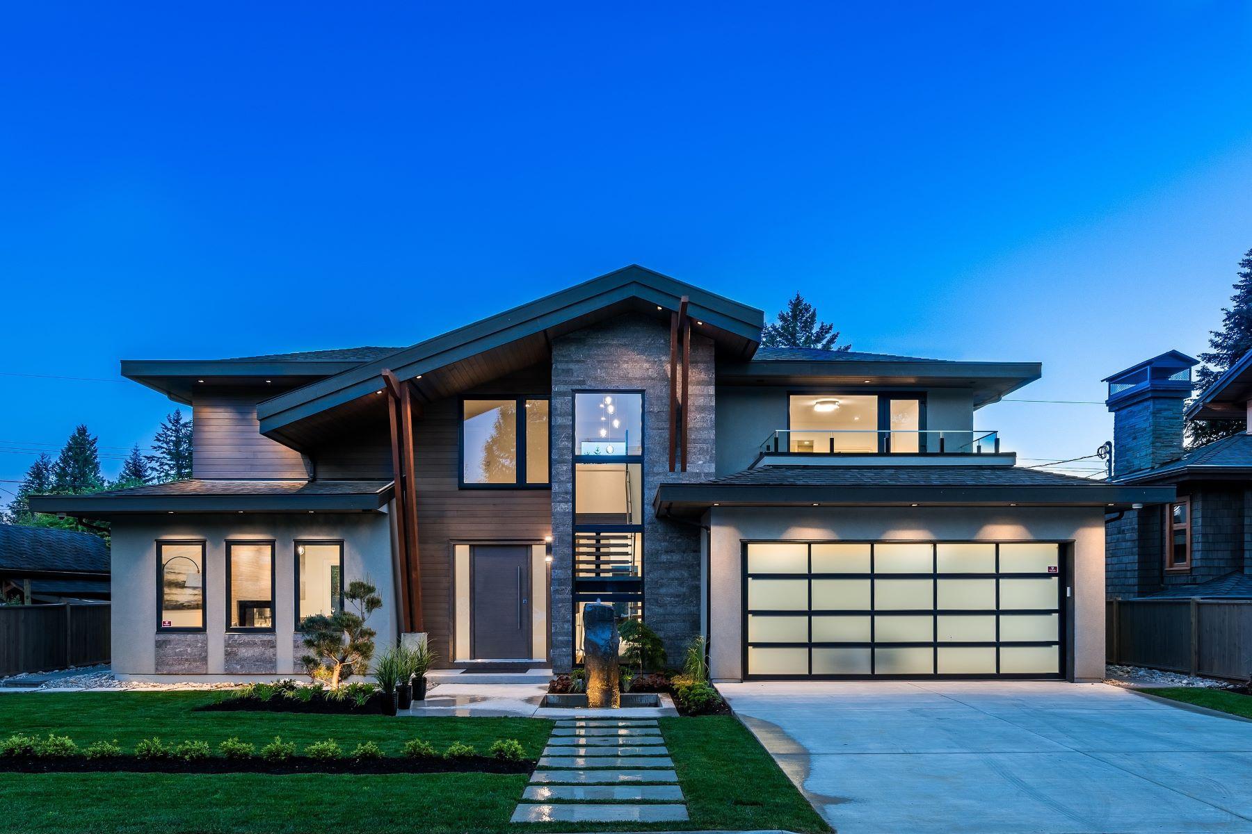 Частный односемейный дом для того Продажа на Edgemont Village Masterpiece 2851 Woodbine Drive North Vancouver, Британская Колумбия, V7R 2R9 Канада