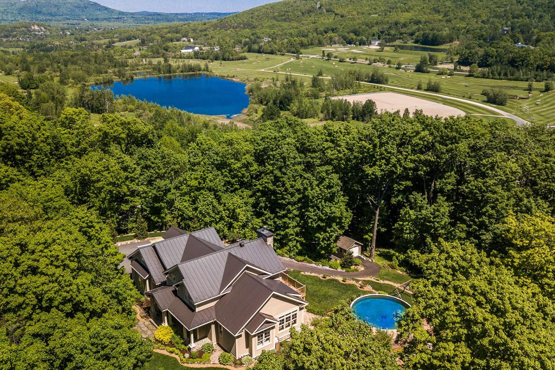Single Family Homes for Sale at Bromont, Montérégie 420 Rue des Lauriers Bromont, Quebec J2L0B7 Canada