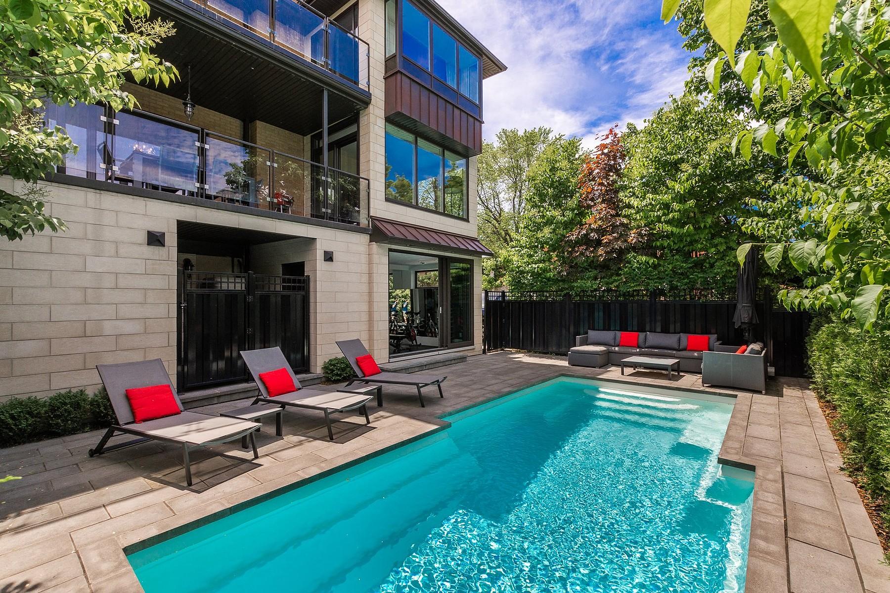Single Family Homes for Sale at Outremont, Montréal 40 Av. Prince-Philip Outremont, Quebec H2V2E8 Canada