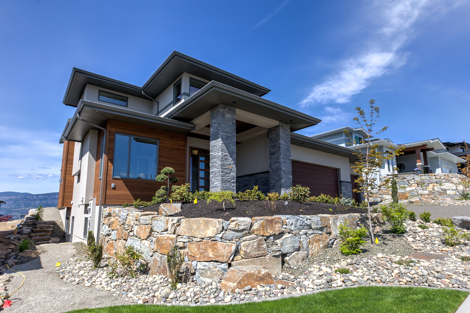 Single Family Homes for Sale at Luxury Home in Wilden 1486 Rocky Point Drive Kelowna, British Columbia V1V3E2 Canada