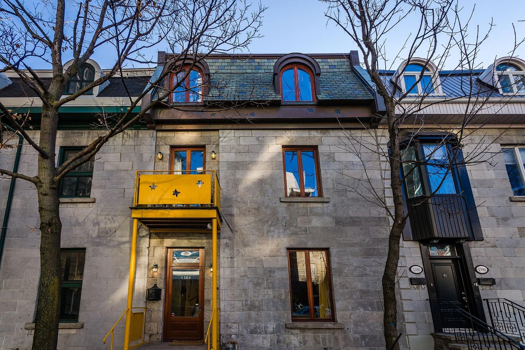 一戸建て のために 売買 アット Ville-Marie, Montréal 1384 Av. Overdale, Ville-Marie, ケベック, H3G1V3 カナダ