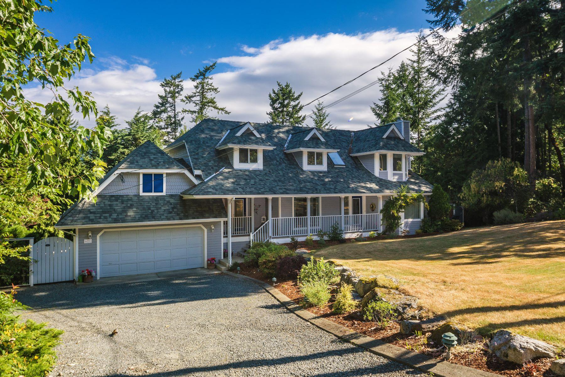 Casa para uma família para Venda às Tranquil Cape Cod style 621 Woodcreek Drive, Victoria bc, North Saanich, Columbia Britanica, V8L 5K5 Canadá
