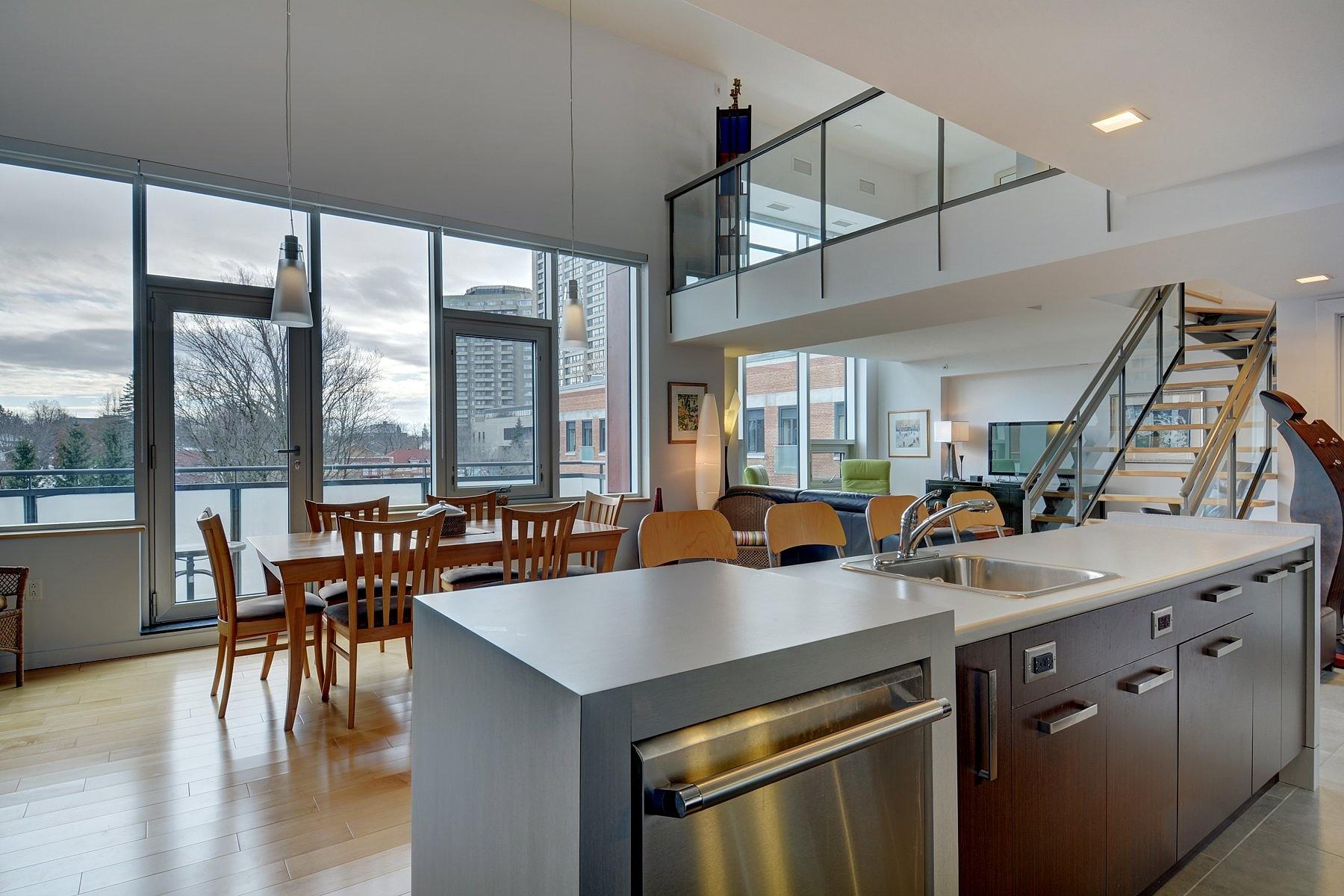 共管式独立产权公寓 为 销售 在 La Cité, Capitale-Nationale 775 Av. Ernest-Gagnon, Apt. 503 St-sacrement ville de Québec, 魁北克, 魁北克省, G1S0B2 加拿大
