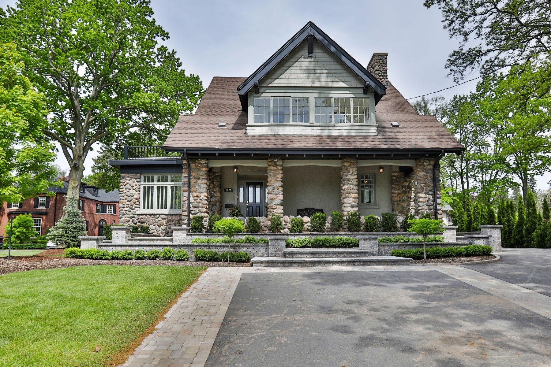 Single Family Homes for Sale at Historical Roseland Gem 3077 Lakeshore Road Burlington, Ontario L7N 1A3 Canada