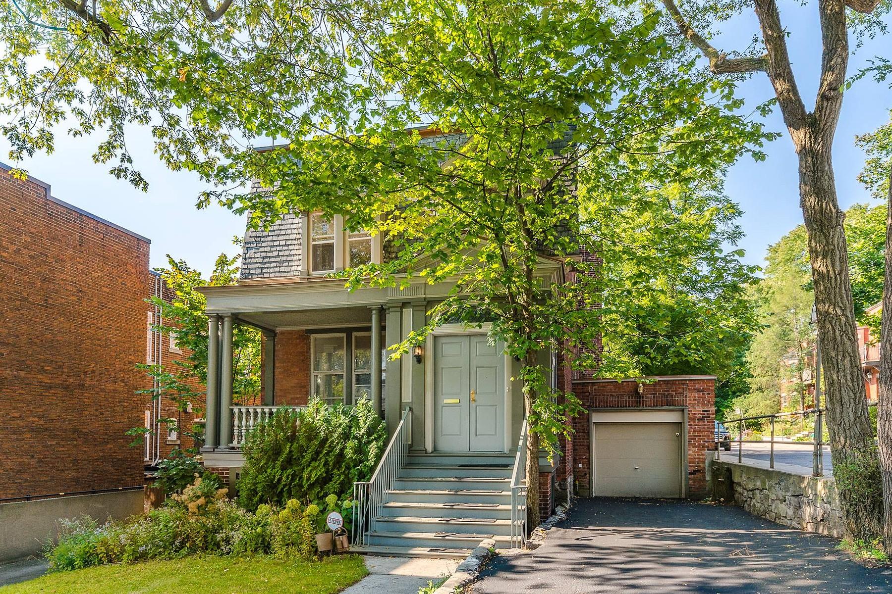 Casa Unifamiliar por un Venta en Westmount, Montréal 530 Av. Prince-Albert Westmount, Quebec, H3Y2P8 Canadá