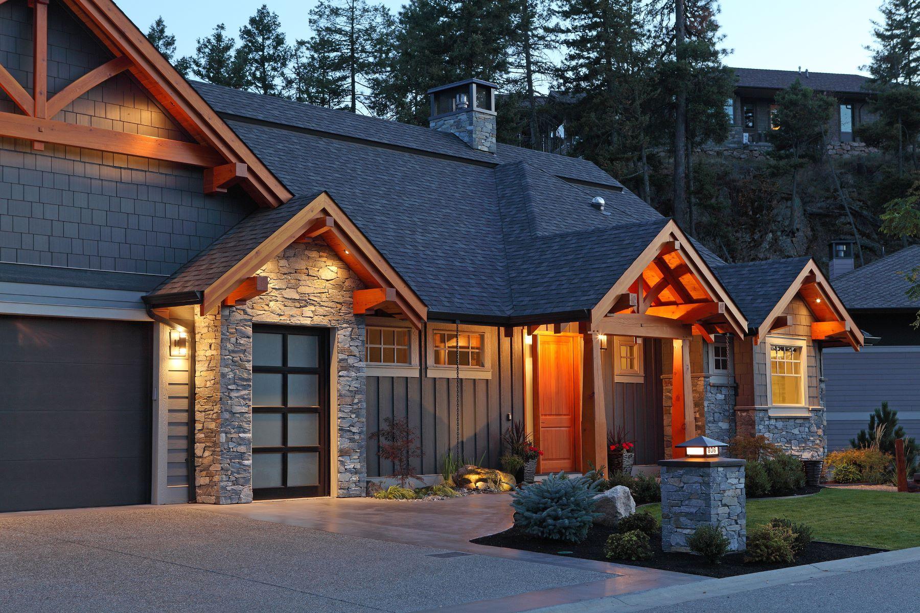 Nhà ở một gia đình vì Bán tại Modern Mountain Masterpiece 806 Brassey Place, Vernon, British Columbia, V1H 2H7 Canada